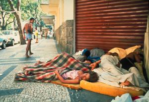 Straßenkinder in Rio