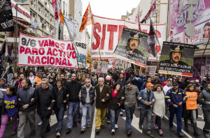 Am 9. Juni gab es in Argentinien einen landesweiten Aktiontag gegen die Sparpolitik der Regierung Kirchner