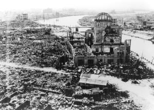 Atombombenabwurf über Hiroshima 1945