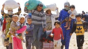 Kurdische Flüchtlinge in Syrien