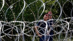 Ungarn hinter Stacheldraht