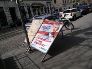 Mordssteher oder Umstürzler - das ist hier die Frage. Immerhin soll sich ja Österreich erheben.