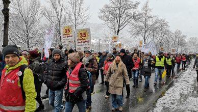 Demonstration in Tirol